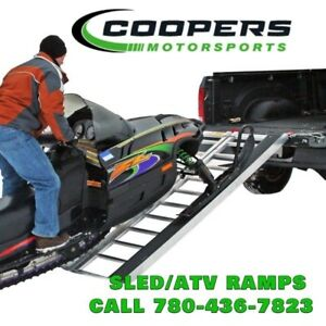 Snowmobile/ATV ramps are available and priced to sell!
