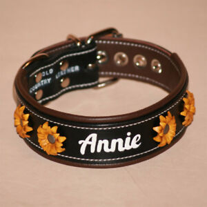 Handcrafted Leather Dog Collars
