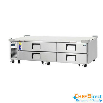 Everest Ecb82-84d4 84 Four Drawer Chef Base
