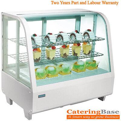 Budget Countertop Food & Beverage Drink Cake Dessert Sandwich Display Chiller