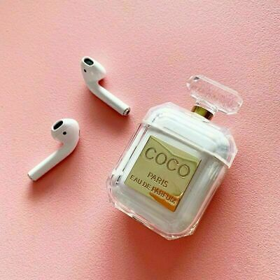 Luxury Miss Perfume bottle Silicone Cases For Airpods Earphone Protective Covers