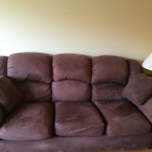 Brown Fabric Couch, Chair and Ottoman bundle Kitchener / Waterloo Kitchener Area image 5