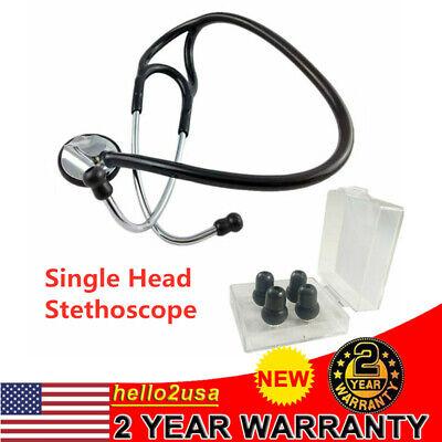 Single Head Stethoscope Pro Zinc Alloy Cardiology Stethoscope Doctor Nurse Vet