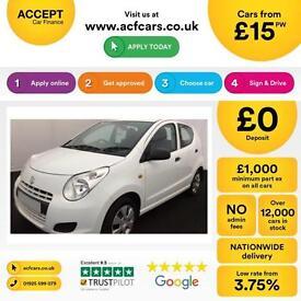 Suzuki Alto 1.0 SZ3 FROM £15 PER WEEK!