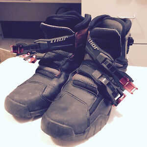 Thor 50/50 boots size 10