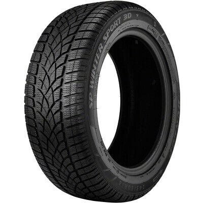 2 New Dunlop Sp Winter Sport 3d - 265/40r20 Tires 2654020 265 40 20