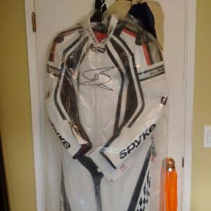Spyke Leather race suit Size 54 Euro 44 US XL unisex