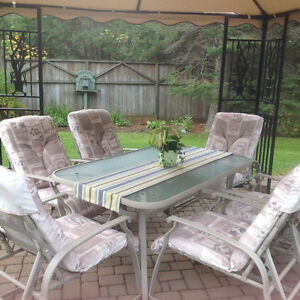 Patio Dining and Chair Set