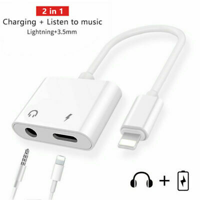 APPLE IPHONE AUX AND CHARGE ADAPTER 3.5MM