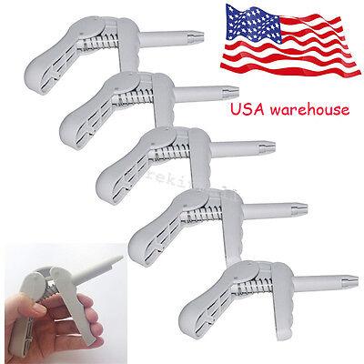 5x Dental Composite Gun Grey Dispenser Applicator Unidose Compules Carpules-usa