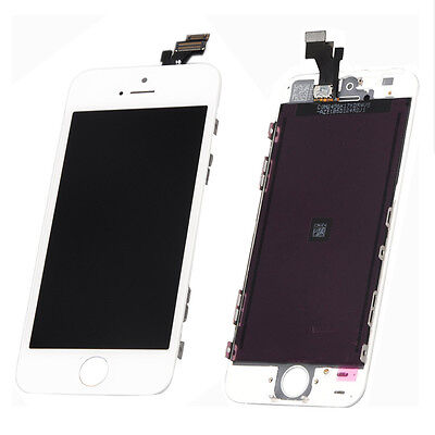 White LCD Display+Touch Screen Digitizer Assembly for iPhone 5 5G Parts USA on Rummage