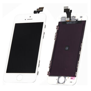 White LCD Display+Touch Screen Digitizer Assembly for iPhone 5 5G Parts USA