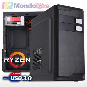 PC-Computer-AMD-RYZEN-3-1200-Quad-Core-Ram-8-GB-SSD-120-GB-nVidia-GT-730