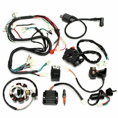 Komplette Elektro Kabel Kabelbaum Gleichrichter CDI Für ATV QUAD 150-250 300CC ()
