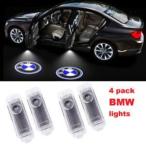 BMW Logo LED Step Door Courtesy Welcome Lights