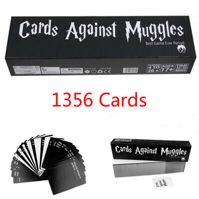 Popular Cards Against Muggles 1356 Cards Table Game Party Home Gift US Stock