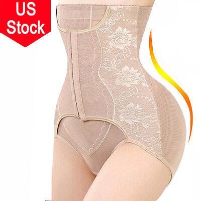 Women Tummy Control High Waist Panty Slimming Bodysuit Body Shaper Sexy Romper