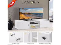 Modern TV Cabinet TV Unit Stand White with led lights