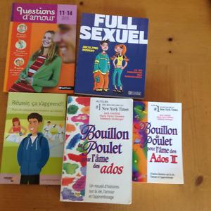 5 livres appréciés des ados et pré-ados