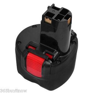 9.6V 2000mAh Ni-Cd BAT048 Battery for Bosch Power Drill PSR 960 23609 GSR 9.6 BK