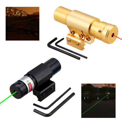 Picatinny Red Green Laser Light Combo Sight Rifle Pistol Compact Mount 11mm/20mm Combo Green Compact