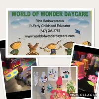 Daycare available in Innisfill