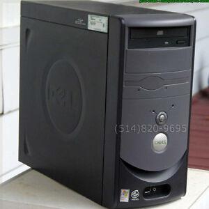 Dell Dimension Boîtier Ordinateur PC Micro-ATX, Usb et son avant