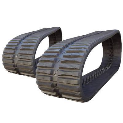 Pair Of Prowler Loegering Vts 59 Links At Tread Rubber Tracks - 450x86x59 - 18