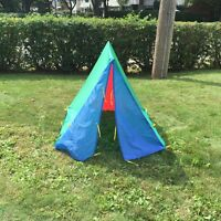 Kid play  tent - blue