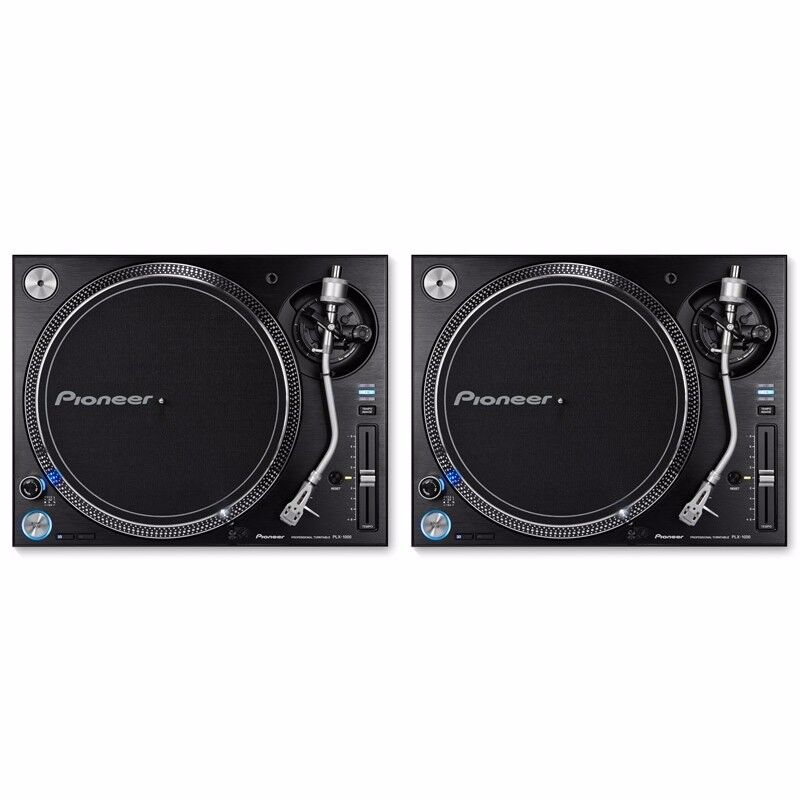 Want to sell pair of Pioneer PLX - 1000 Turntable and M-audio M-track 2x2m audio interface