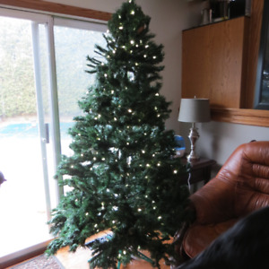 Artificial Christmas Tree - 7 feet - with Lights