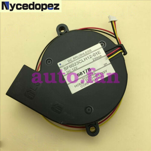 1 PCS Brand New SF6023CLH12-01E Projector Fan For EB-X7/S7/X8/W8/X9/C260S