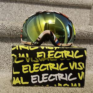 Electric EG2 Snowboard Goggles - Lips - Gold Chrome Lens