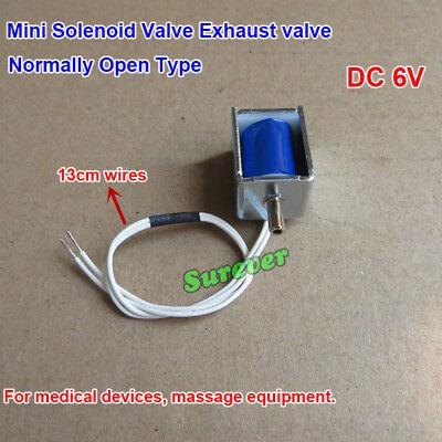 Dc 6v Mini Solenoid Valve Exhaust Valve Normally Open No For Sphygmomanometer
