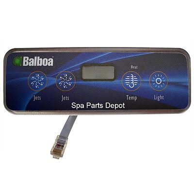Balboa Lite Duplex Digital Panel - Balboa Control Panel, Lite Duplex Digital, LCD, 2 Pumps