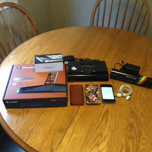 IPhone 4 with lots of extras