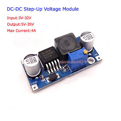 Dc-dc Boost Step-up 3v-32v 12v To 5v-35v 24v 4a Converter Power Supply Module