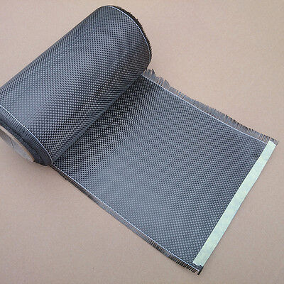"""High-Quality 3K 200gsm Real Carbon Fiber Cloth Carbon Fabric plain Tape 8"""" on Rummage"""