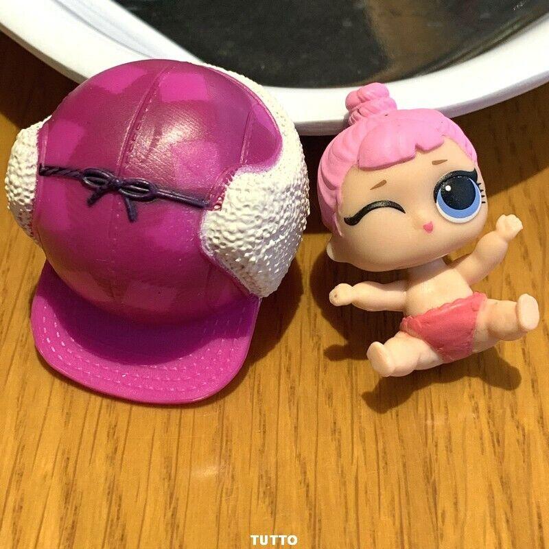 LOL Überraschung Lil Schwestern Cozy Babe Chill Out Club Puppe Serie 2 mit Hut