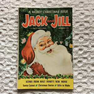 Two Vintage December Christmas Jack And Jill Magazines