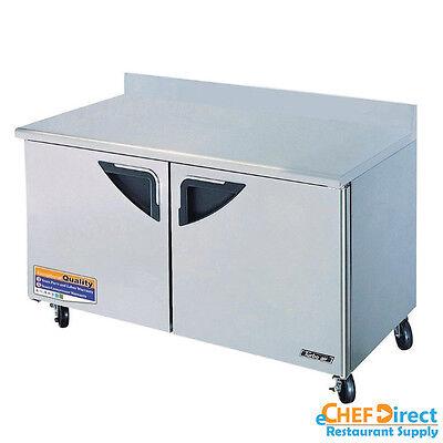 Turbo Air Twf-60sd-n Super Deluxe 60 Double Door Worktop Freezer