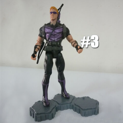 6/'/' Marvel Comic Avengers Hero Black Panther Loki Shield Fury Hawkeye Figure Toy