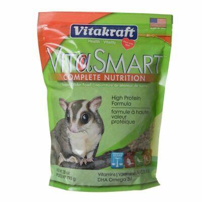 LM Vitakraft VitaSmart Complete Nutrition Sugar Glider Food - 28 oz Sugar Glider Nutrition