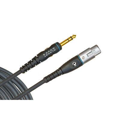 Planet Waves PW-GM-10 - Câble micro Custom, XLR Femelle vers 1/4'', 3...