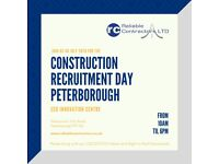 Looking for Construction work in Peterborough? Reliable Contractors Construction Recruitment Days