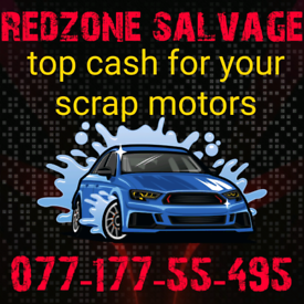 Scrap cars wanted top cash paid today