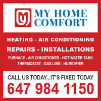 SERVICE CALL ONLY $65! AIR CONDITIONER REPAIR, NEW INSTALLATION!