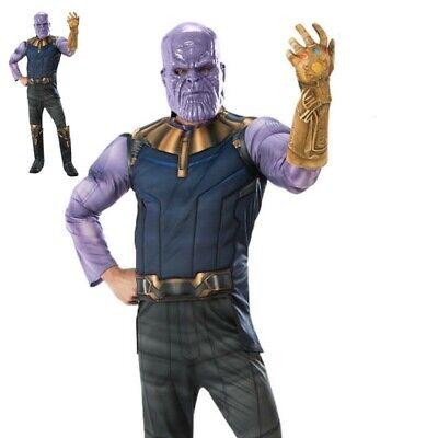 Jungen Thanos Offiziell Avengers Unendlichkeit Krieg Luxus - Offizielle Avengers Kostüm