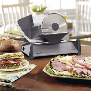 Cuisinart Professional Food Slicer Stainless Steel (In Box)