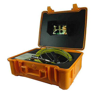 100m Underwater Video Hd Ir Sewer Pipe Drain Inspection Camera System 4g Sd Card